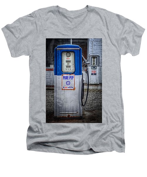 Old And Rusty  Pump  Men's V-Neck T-Shirt