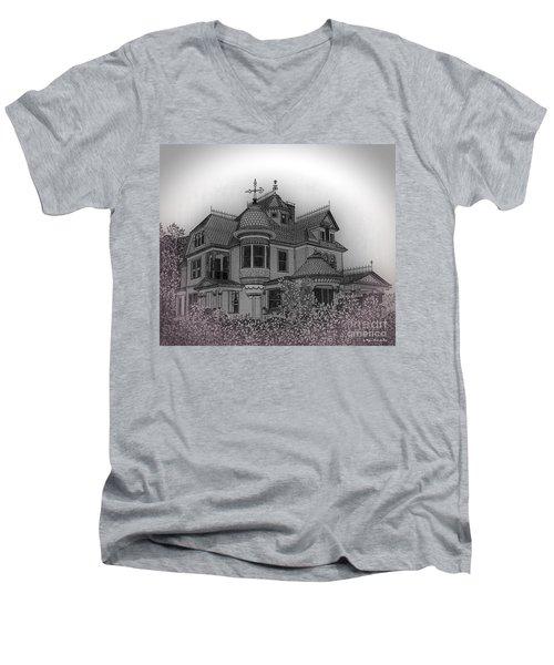 Aristocrat Men's V-Neck T-Shirt by Megan Dirsa-DuBois