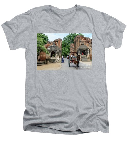 Old Bagan Men's V-Neck T-Shirt