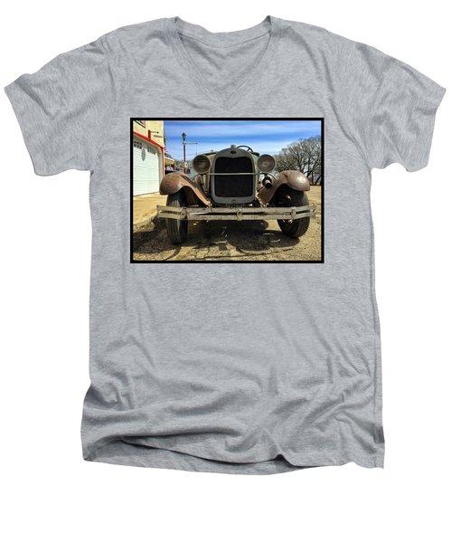 Old Banger Men's V-Neck T-Shirt