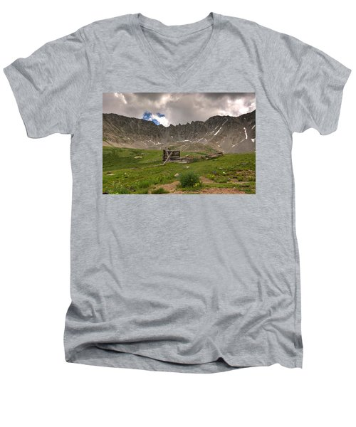 Old Cabin Men's V-Neck T-Shirt