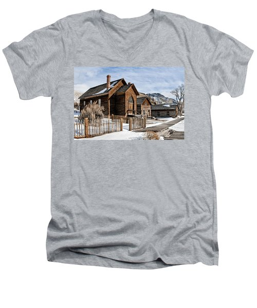 Old Church Men's V-Neck T-Shirt