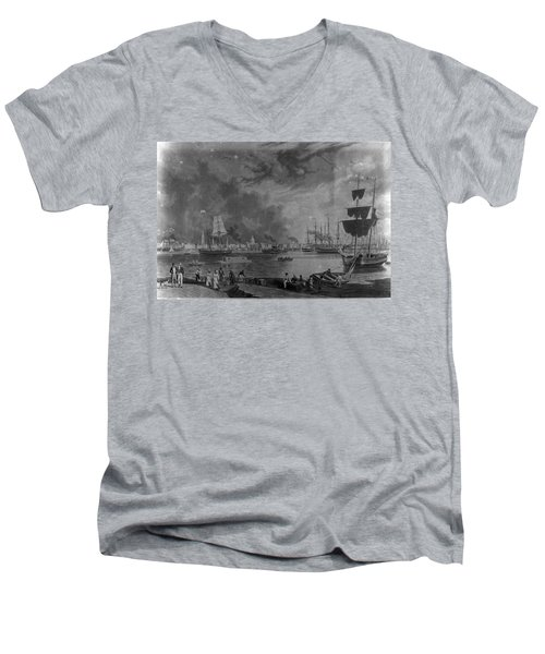 Old City Men's V-Neck T-Shirt