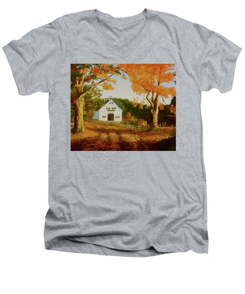 Old Country Road Men's V-Neck T-Shirt