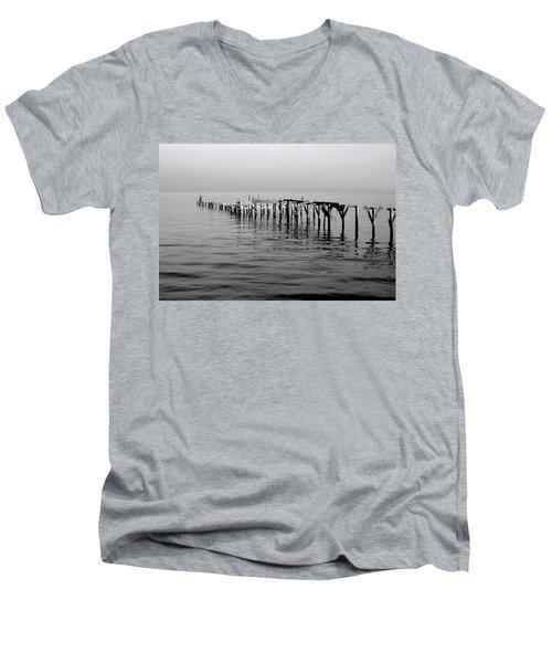 Old Dock  Men's V-Neck T-Shirt