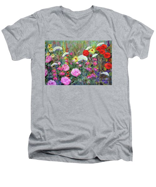 Old Fashioned Garden Men's V-Neck T-Shirt