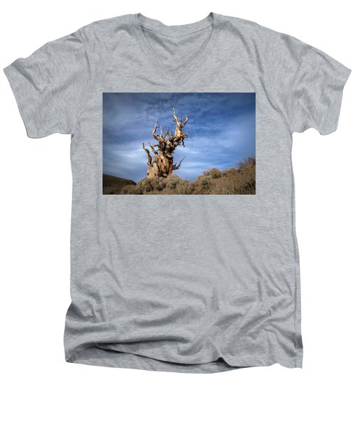 Men's V-Neck T-Shirt featuring the photograph Old Friend by Sean Foster