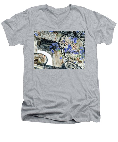 Old Growth Wisteria Men's V-Neck T-Shirt