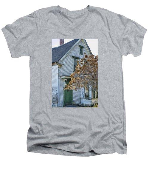 Old Home Men's V-Neck T-Shirt by Alana Ranney