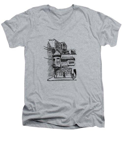 Old House Men's V-Neck T-Shirt