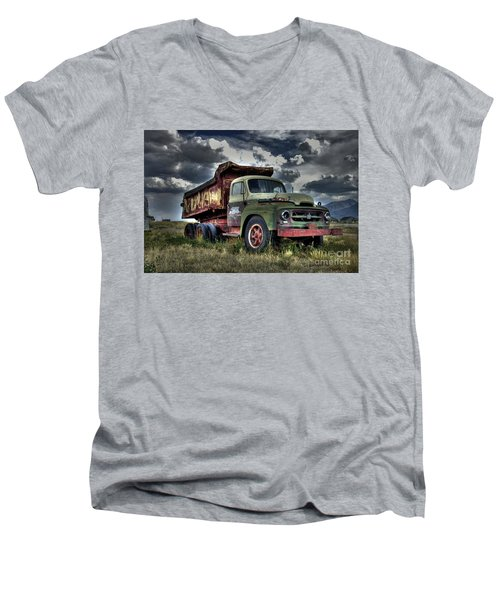 Old International #2 Men's V-Neck T-Shirt