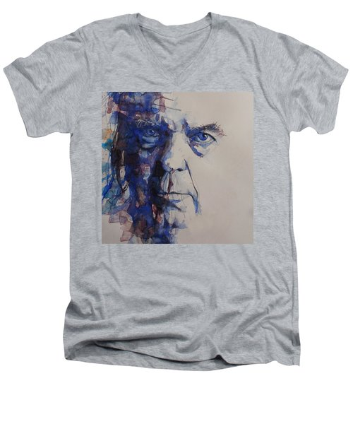 Old Man - Neil Young  Men's V-Neck T-Shirt