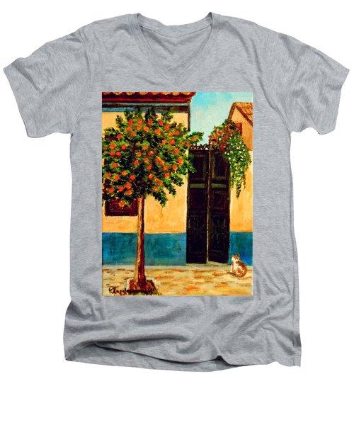 Old Neighborhood Men's V-Neck T-Shirt
