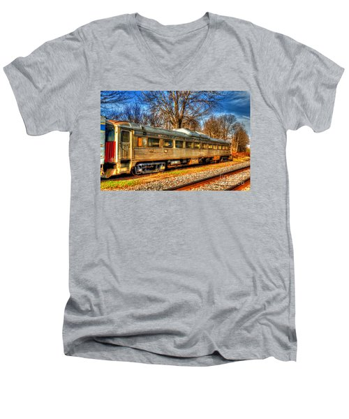Old Rail Car Men's V-Neck T-Shirt