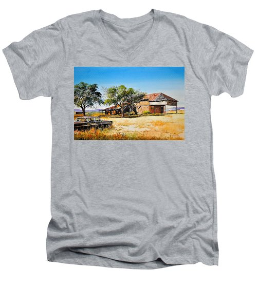 Old Route 66 Men's V-Neck T-Shirt