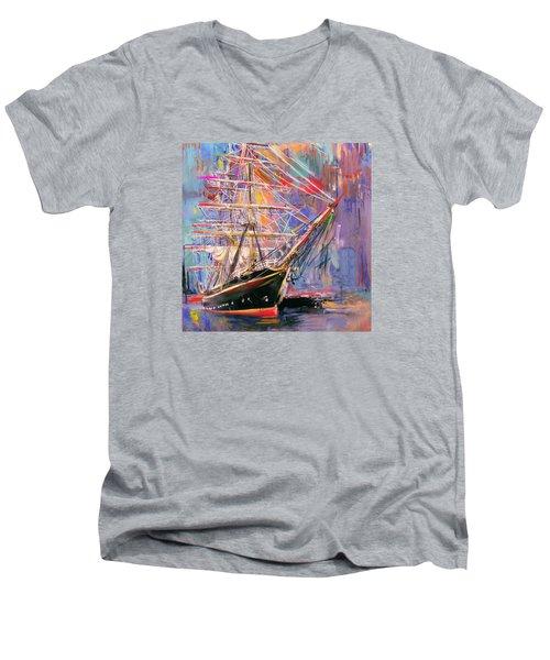 Old Ship 226 4 Men's V-Neck T-Shirt