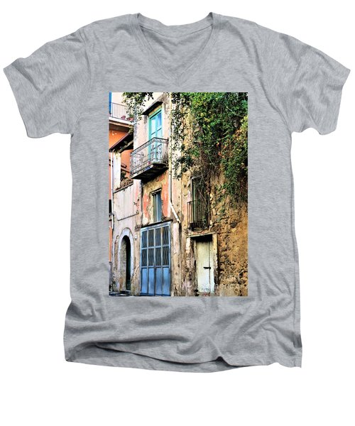 Old Sorrento Street Men's V-Neck T-Shirt