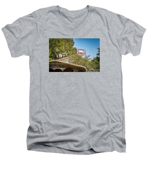 Mountains Men's V-Neck T-Shirt