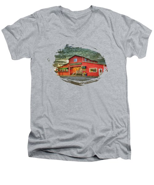 Old Town Mall Bandon Men's V-Neck T-Shirt