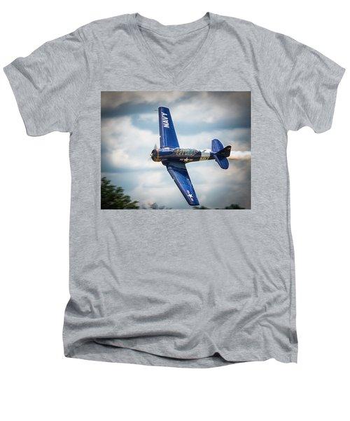 Old Warbird Trainer Men's V-Neck T-Shirt
