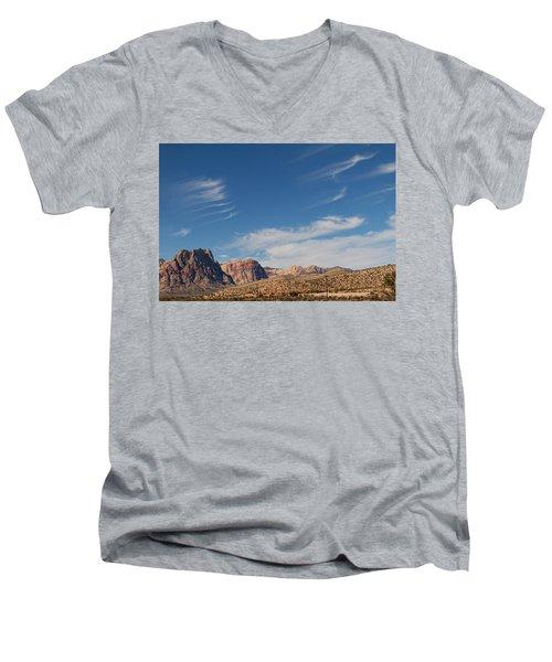 Old West Poles Men's V-Neck T-Shirt