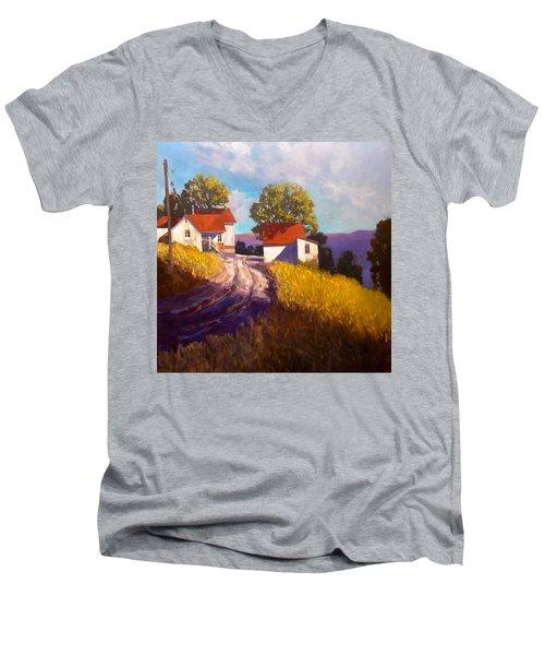 Old Willy's Barn Men's V-Neck T-Shirt