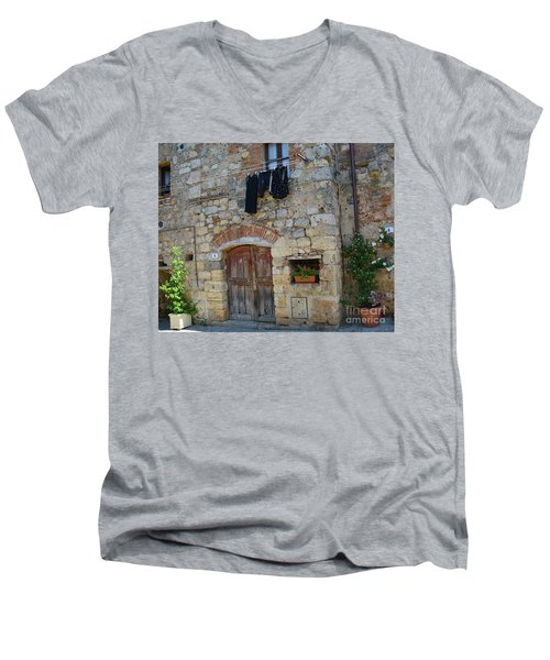 Old World Door Men's V-Neck T-Shirt