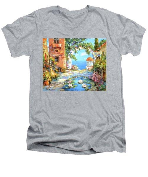 Old Yard  Men's V-Neck T-Shirt