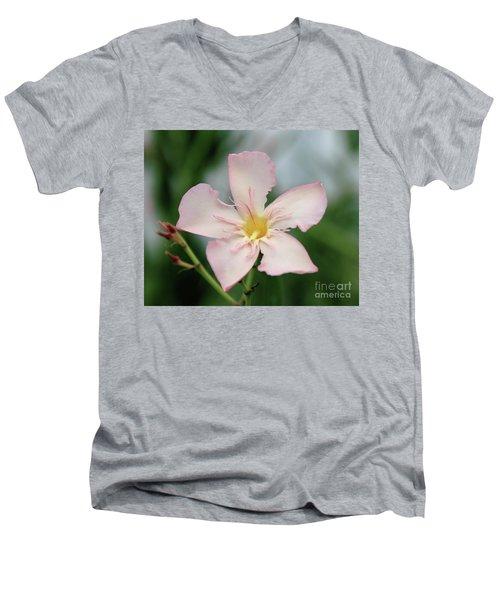 Oleander Agnes Campbell  Men's V-Neck T-Shirt