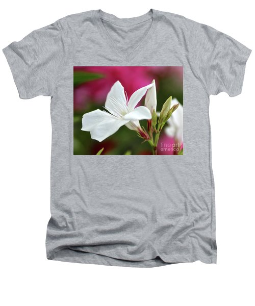Oleander Casablanca 2 Men's V-Neck T-Shirt