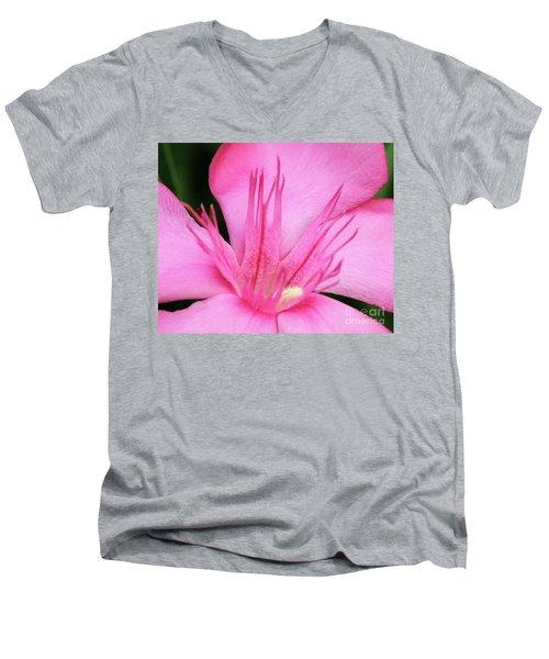 Oleander Professor Parlatore 3 Men's V-Neck T-Shirt