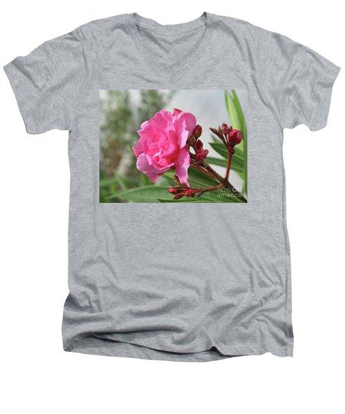 Oleander Splendens Giganteum 4 Men's V-Neck T-Shirt