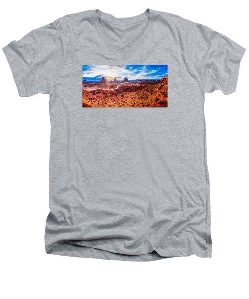 Oljato-monument Valley Men's V-Neck T-Shirt