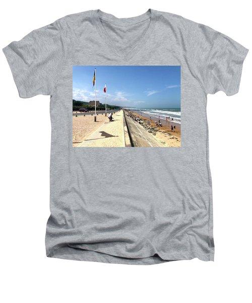 Omaha Beach 2018 Men's V-Neck T-Shirt