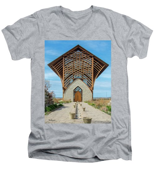 Omaha Holy Family Shrine Men's V-Neck T-Shirt
