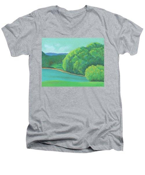 Omega Morning Men's V-Neck T-Shirt