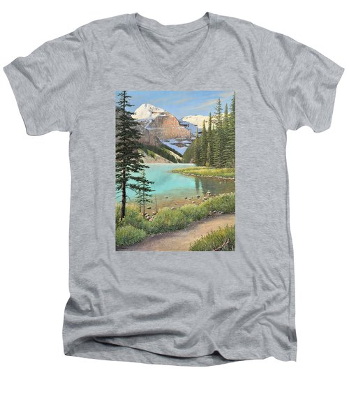 On A Summer's Day Men's V-Neck T-Shirt