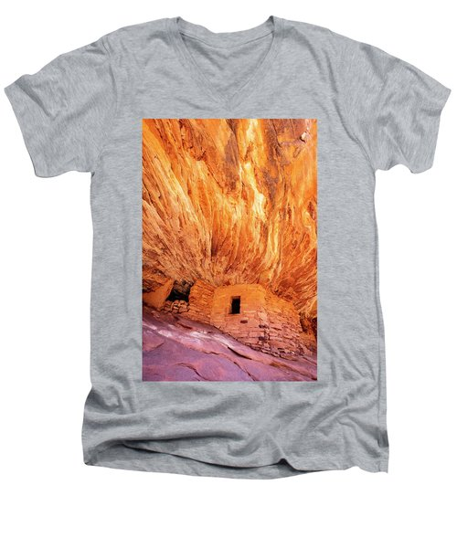 On Fire Men's V-Neck T-Shirt