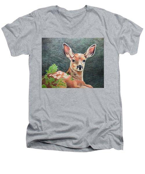 On Full Alert Men's V-Neck T-Shirt