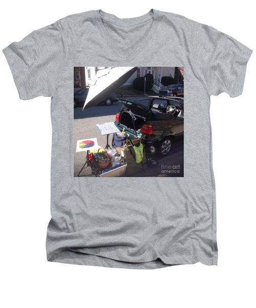 On Location Men's V-Neck T-Shirt