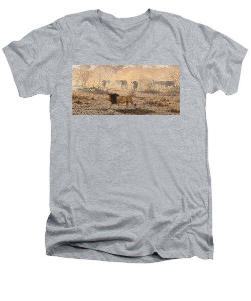 On Patrol Men's V-Neck T-Shirt