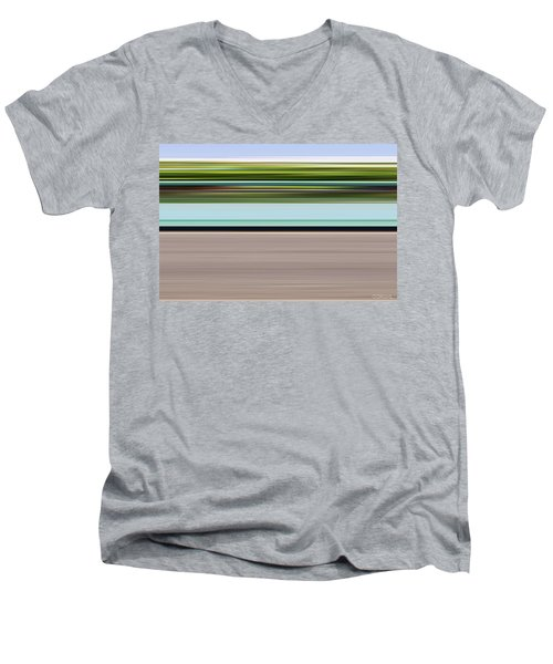 On Road Men's V-Neck T-Shirt