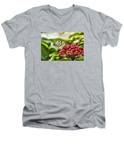 On The Color Men's V-Neck T-Shirt