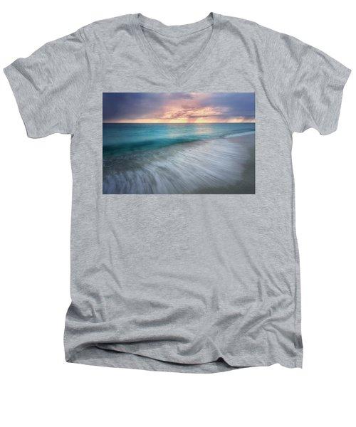 On The Horizon  Men's V-Neck T-Shirt by Nicki Frates