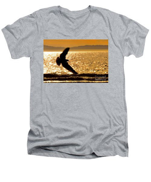 On The Move Men's V-Neck T-Shirt