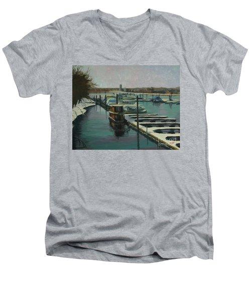 On The River Men's V-Neck T-Shirt