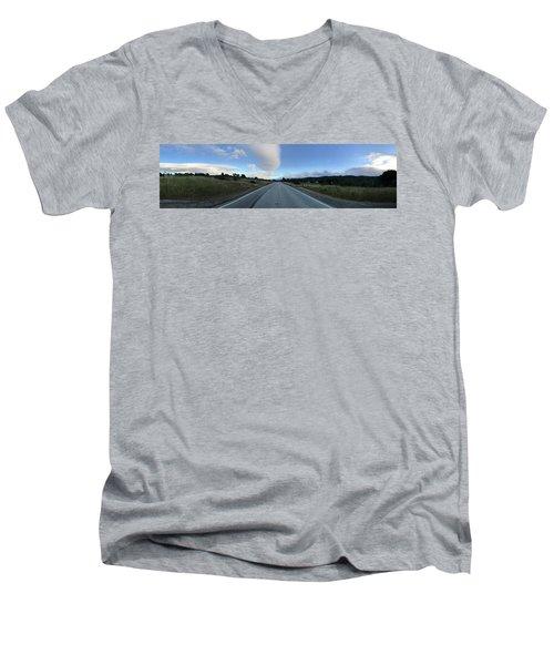 On The Road Men's V-Neck T-Shirt
