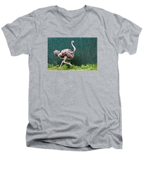 On The Run Men's V-Neck T-Shirt