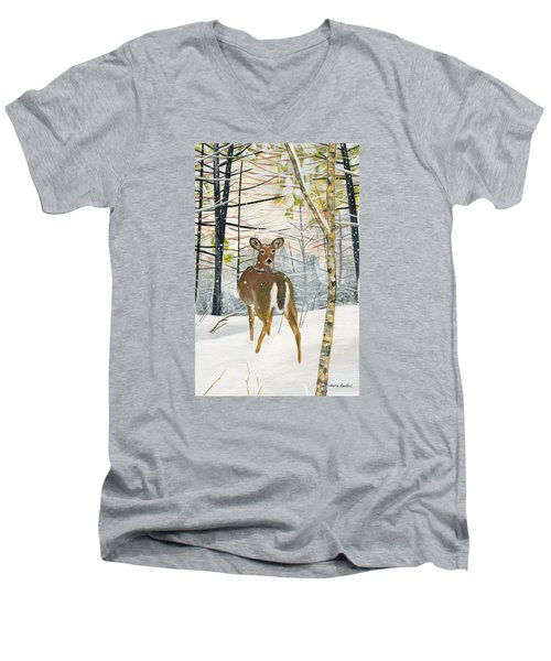 On The Trail Men's V-Neck T-Shirt