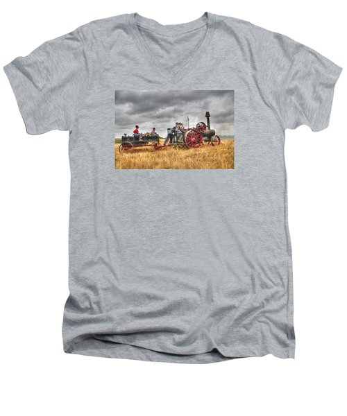 On The Way Men's V-Neck T-Shirt by Shelly Gunderson
